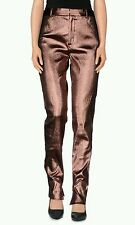 Tom Ford Authentic Metallic Pants in Pink. Retail price $1,290.