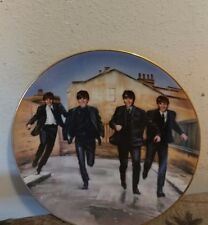 THE BEATLES DELPHI Collector PLATE A HARD DAYS NIGHT 1992. Bradford exchange