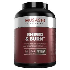 Musashi Shred And Burn Chocolate 2kg