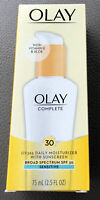 Olay Complete SPF 30 Defense Daily UV 365 Days Moisturizer & Aloe 2.5 fl oz