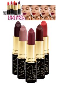 IMAN Luxury Matte Lipstick - All colors