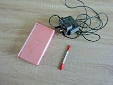 Nintendo DS Lite Console pink With Genuine Charger And Stylus