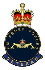 Royal Navy Submariners HM Armed Forces Veterans Clear Cling Sticker