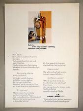 Caleche Perfume PRINT AD - 1969 ~~ Hermes