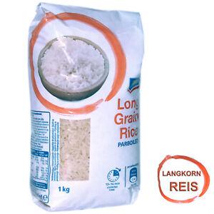 1 Kg Premium Reis Qualitätsreis Parboiled Langkornreis Longgrian rice