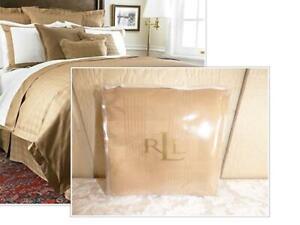 $130.00 Lauren Suite by Ralph Lauren Glen Plaid Standard Sham, Camel