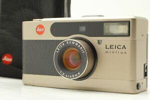 [Mint IN Hülle] Leica Minilux 35mm Film Kamera Summarit 40mm F2.4 Aus IN Japan
