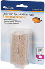 New listing Aqueon Specialty Filter Pads Ammonia Reducer Remove Excess Harmful Toxic Ammonia