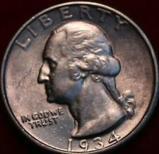 1934 Philadelphia Mint Silver Washington Quarter