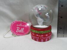 "2012 Hallmark Bell Snow Globe 2"""