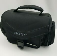 Sony Handycam Case Soft Carrying Shoulder Bag For Camcorders DSLR Camera