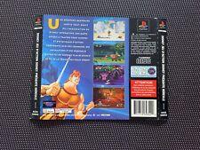 Disney's Hercule - Jaquette arrière - Playstation 1 PS1