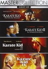 4-DVD-SET:  KARATE KID COLLECTION 1 & 2 & 3 & 4 (NEXT)  -KOMPLETT DEUTSCH- #NEU#