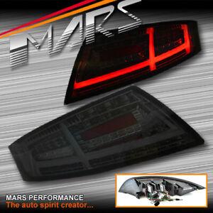 Smoked LED 3D Stripe Bar Dynamic Indicator Tail lights for AUDI TT 8J 06-14
