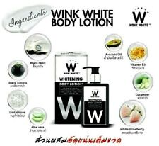 200ml Wink White Gluta Collagen Lotion Sunscreen AHA Mix Fruits SPF60+
