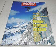 EQUIPE MAGAZINE N°768 1996 SKI ALPHAND PORTILLO 1966 MONTAGNE MAUDUIT POLE NORD