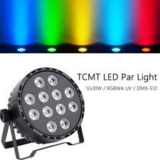 12x10W RGBWA UV 6in1 LED Stage Par Light DMX512 Stage Washer Wash Lighting Decor
