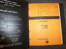 John Deere 690B Hydraulic Excavator Parts Catalog Manual Manual Pc1370
