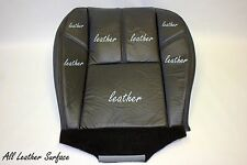 2007 to 2012 Chevy Tahoe Yukon Suburban  Front set Leather Seat Cover Black