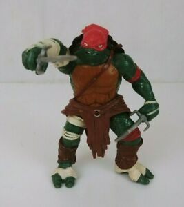 2014 Playmates TMNT Teenage Mutant Ninja Turtles Movie RAPHAEL Action Figure