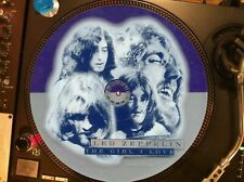 """LED ZEPPELIN– The Girl I Love Ultra Rare 12"""" Picture Disc Single LP ⭐️⭐️⭐️⭐️⭐"""