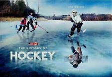US CANADA HISTORY OF NORTH AMERICAN HOCKEY MVF FOREVER 2 STAMP MINI SHEET 5253b