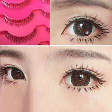 5 Pair/Box Lower Under Bottom Eye Lashes Natural Soft False Eyelashes Handmade