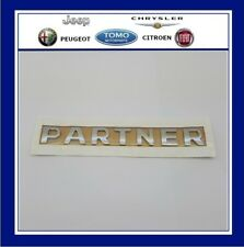 NEW GENUINE PEUGEOT PARTNER REAR BADGE Emblem 2008-2012 B9 Tepee HDi Van
