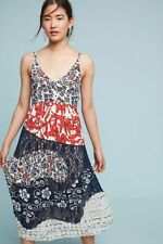 Anthropologie Red White Blue Isa Midi Dress by Maeve-12-$168MSRP