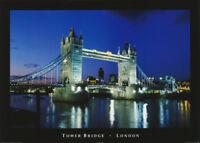 POSTER : TOWER BRIDGE  - LONDON - FREE SHIPPING !         #PP0470     RC55 U