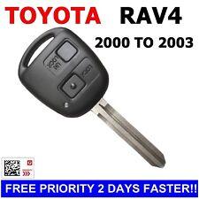 60030- Toyota RAV4 REMOTE CAR KEY Transponder Chip 2000 2001 2002 2003 RAV 4 key