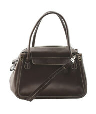 Tods Brown Leather Satchel