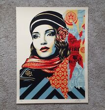 Shepard Fairey Obey Fire Sale Signed Art Print Poster Giant Limited Ed Target