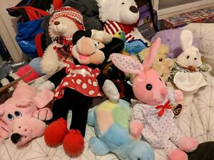 Plush Teddy Bundle Some New With Tags
