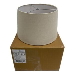 Pottery Barn Textured Gallery Tapered Shade Medium Sand $69 NEW/ open box