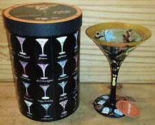 Santa Barbara Lolita Fright Night Martini Glass With Box