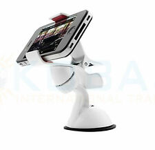 Universal 360°Car Air Vent Mount Cradle Holder Stand for Mobile Cell Phone WHITE