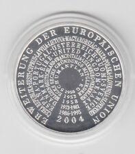 10€ Union Européenne Extension Plaque Polie 2004
