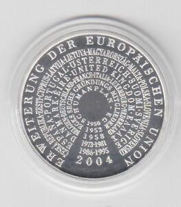 Union Européenne Extension Poli Plaque 2004