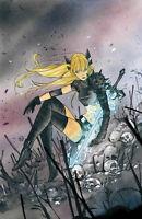 🔥 X OF SWORDS CREATION #1 PEACH MOMOKO MAGIK VIRGIN VARIANT PRESALE!