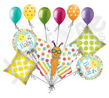 11 pc Fun in Sun Baby Shower Balloon Bouquet Decoration Welcome Home Butterfly