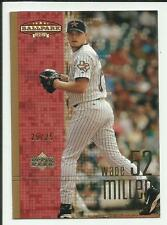Wade Miller 2002 Upper Deck Ballpark Idols GOLD #97  #25/25  Houston Astros
