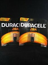 2 FRESH 28A Duracell 6V Battery 1414A, 4LR44, A544, PX28A Medical Batteries