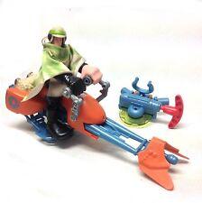 "Star Wars Playskool Luke Skywalker & 6 ""de grueso Niños Juguete Figuras & Speeder Bike"