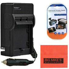 AC/DC Battery Charger for Panasonic Lumix DMC-TS4  Battery charger PT41 & More!!