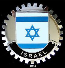 CAR GRILLE EMBLEM BADGES - ISRAEL(FLAG)