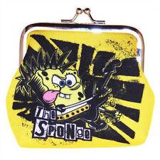 New Genuine SpongeBob Squarepants 'So What Rocker' Coin Purse - Ideal Gift