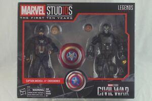 Marvel Legends Studios CAPTAIN AMERICA & CROSSBONES First 10 Years Civil War