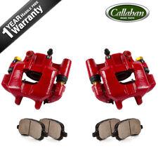 Rear Red Brake Calipers and Ceramic Pads  2005 2006 2007 2008 2009 2010 SCION TC