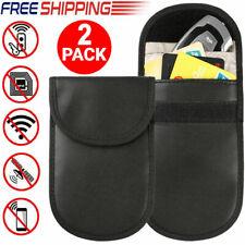 Car Key Signal Blocker Case 2 Pack Secure Signal Blocker Pouch Bag RFID Blocking